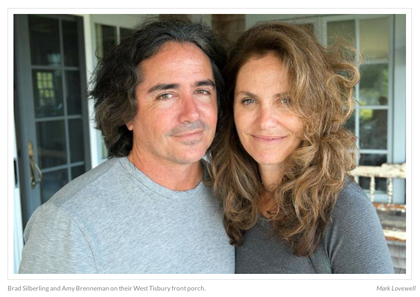 Brad Silberling and Amy Brenneman, Photo Mike Lovewell