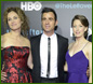 Amy Brenneman, Justin Theroux, Carrie Coon, Chris Zylka and Margaret Qualley attend the Season 2 premeire of HBO's 'The Leftovers' during the ATX Television festival at the Paramount Theatre on October 3, 2015 in Austin, Texas.