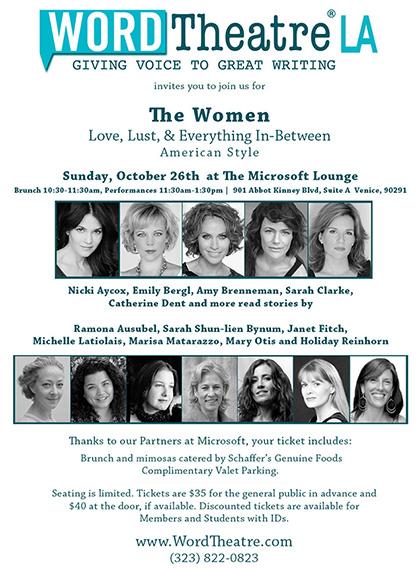"""WORD Theatre LA - """"The Women"""""""